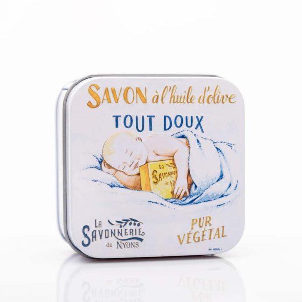 Bébé - Fransk tvål i plåtask 100g
