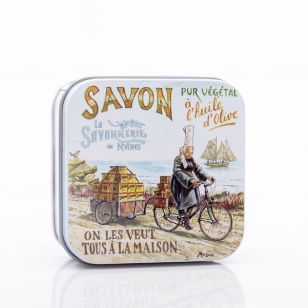 Bicyclette - Fransk tvål i plåtask 100g