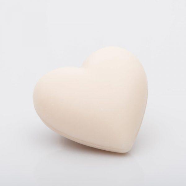 Fleur de cotton (bomullsblomma), La Savonnerie de Nyons - Fransk hjärtformad tvål 100g