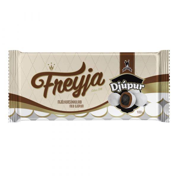 Chokladkaka med Djúpur 100 g