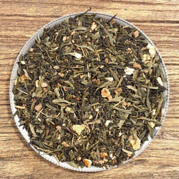 Kashmiri - svart och grönt te